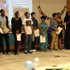 grade 9 students at SBL's graduation ceremony