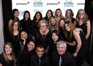 CEC TCs at the Angel Foundation gala with TCDSB Director of Education, Angela Gauthier (pictured centred)