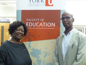 The Honourable Jean Augustine and Dr. Carl James
