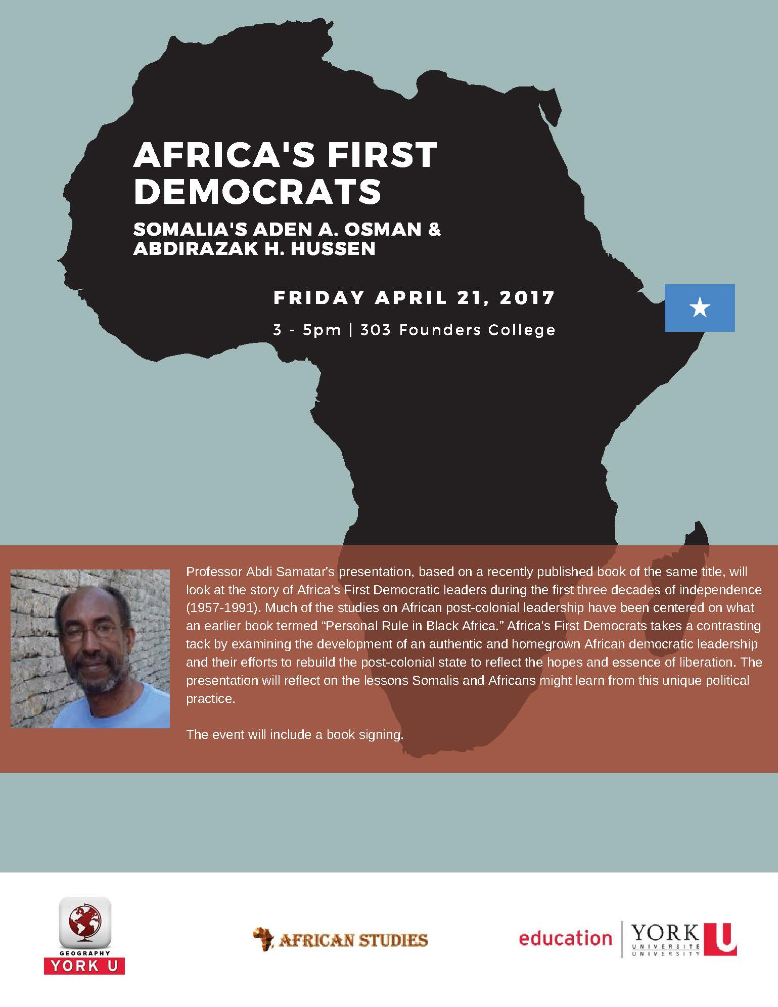 Africa's First Democrats (English flyer)