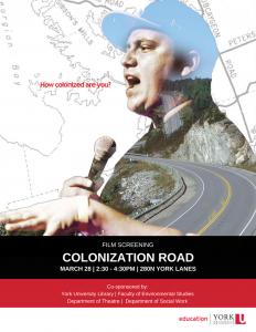 Film Screening - Colonization Road @ 280N York Lanes