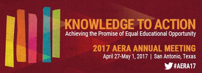 AERA 2017 banner image