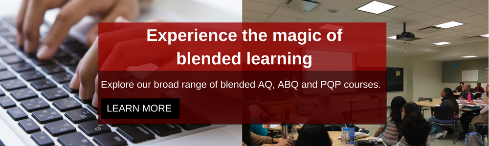 Experience the magic of blended learning