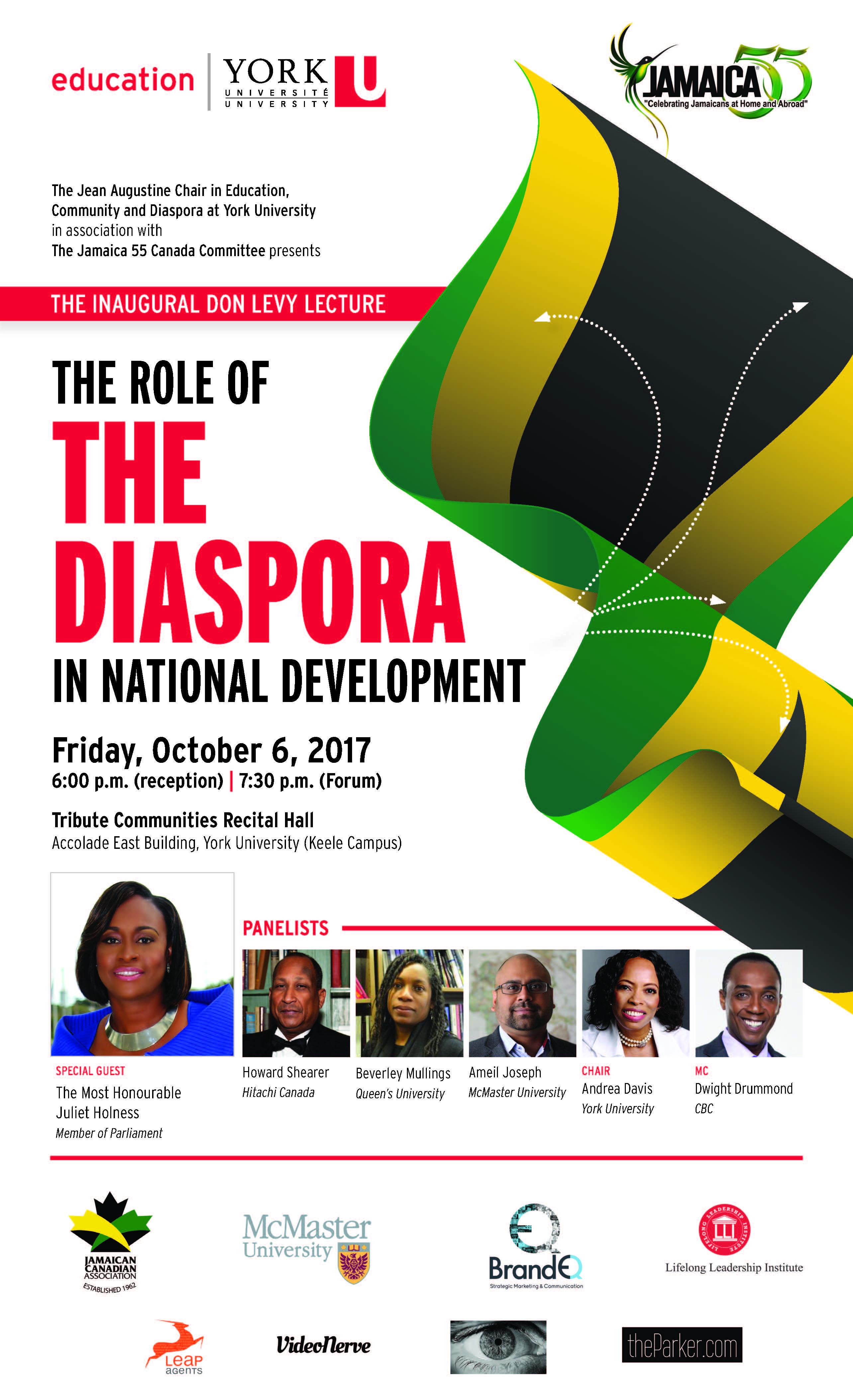 Jamaica 55 event poster