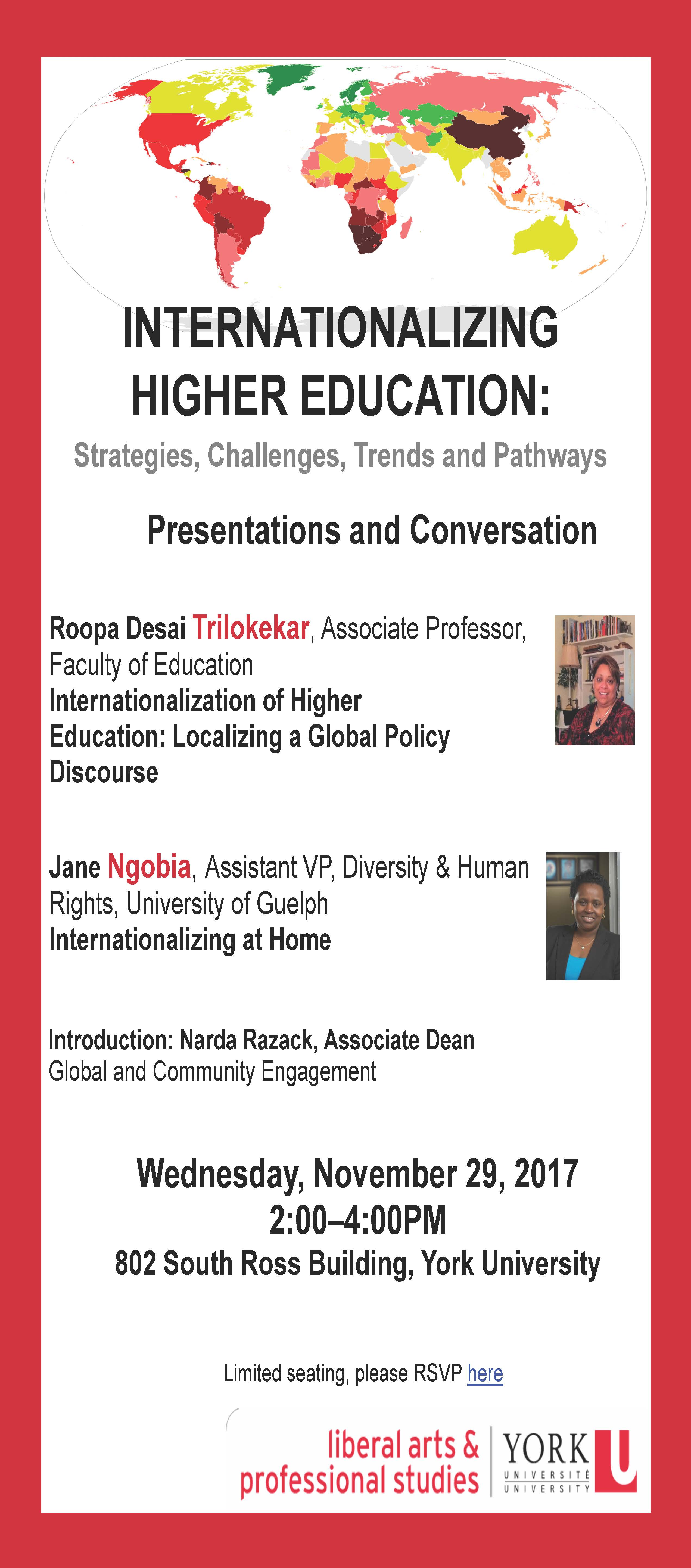 Internationalizing Higher Education - FLYER