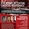 Everyday Activism, Critical Resistance poster