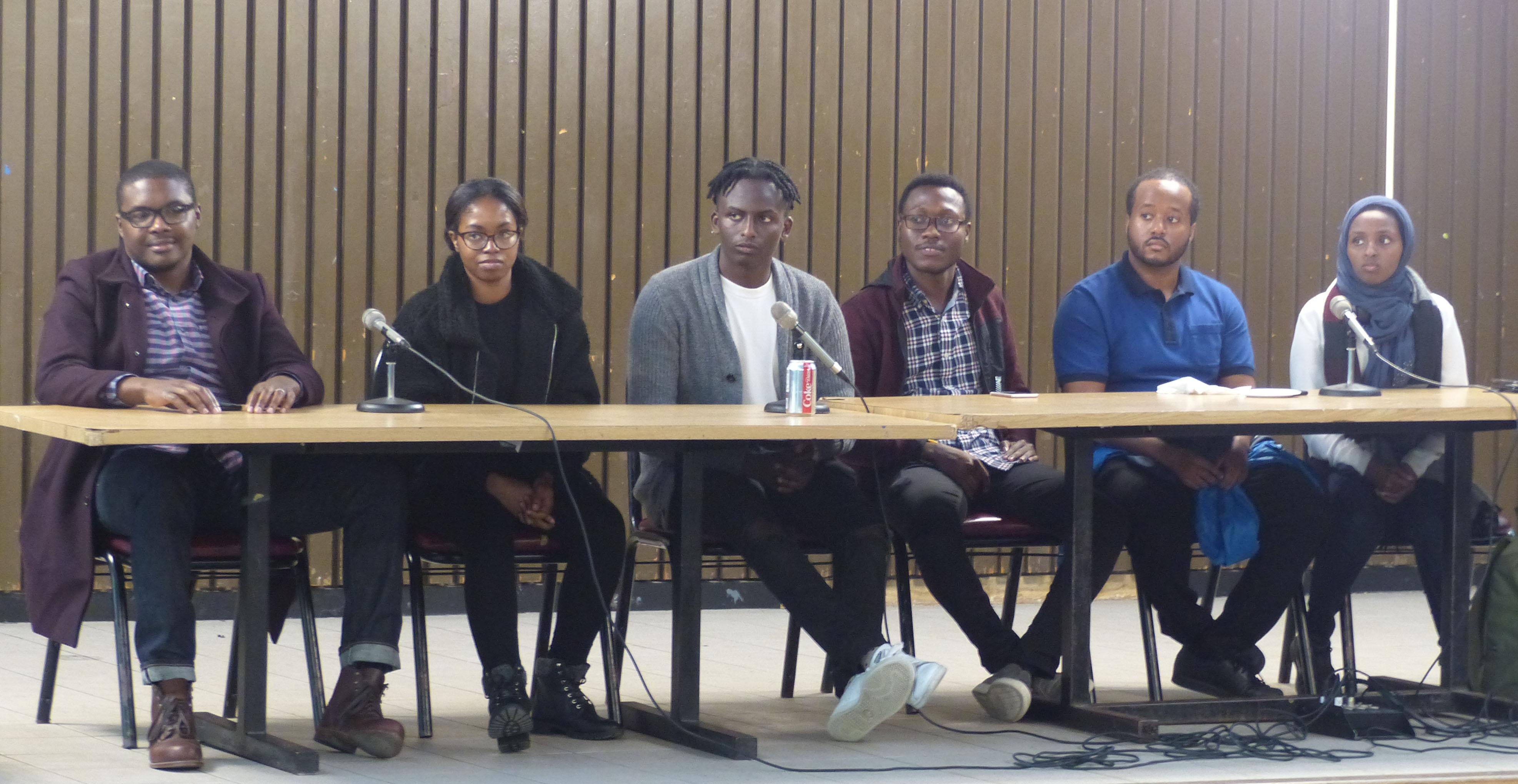 Panel of current graduate and undergraduate YorkU students