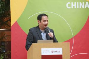 Qiang Zha Speaking